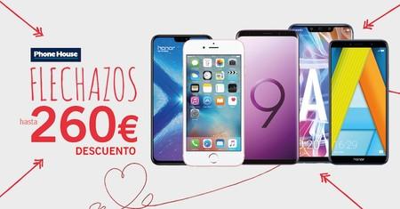 Flechazos Phone House: smartphones Xiaomi, Samsung y Huawei rebajados hasta San Valentín