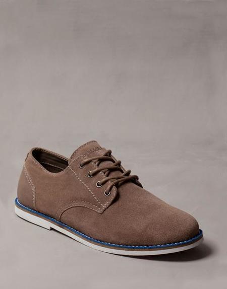 Zapatos suela bicolor serraje Pull & Bear