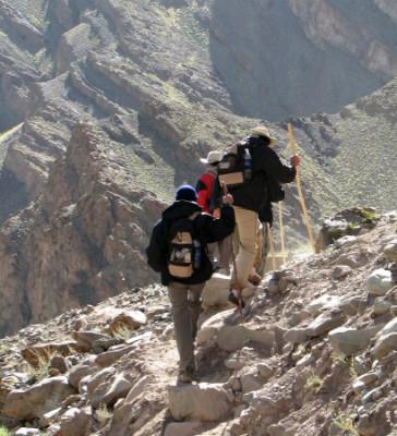 Prevenir en la montaña