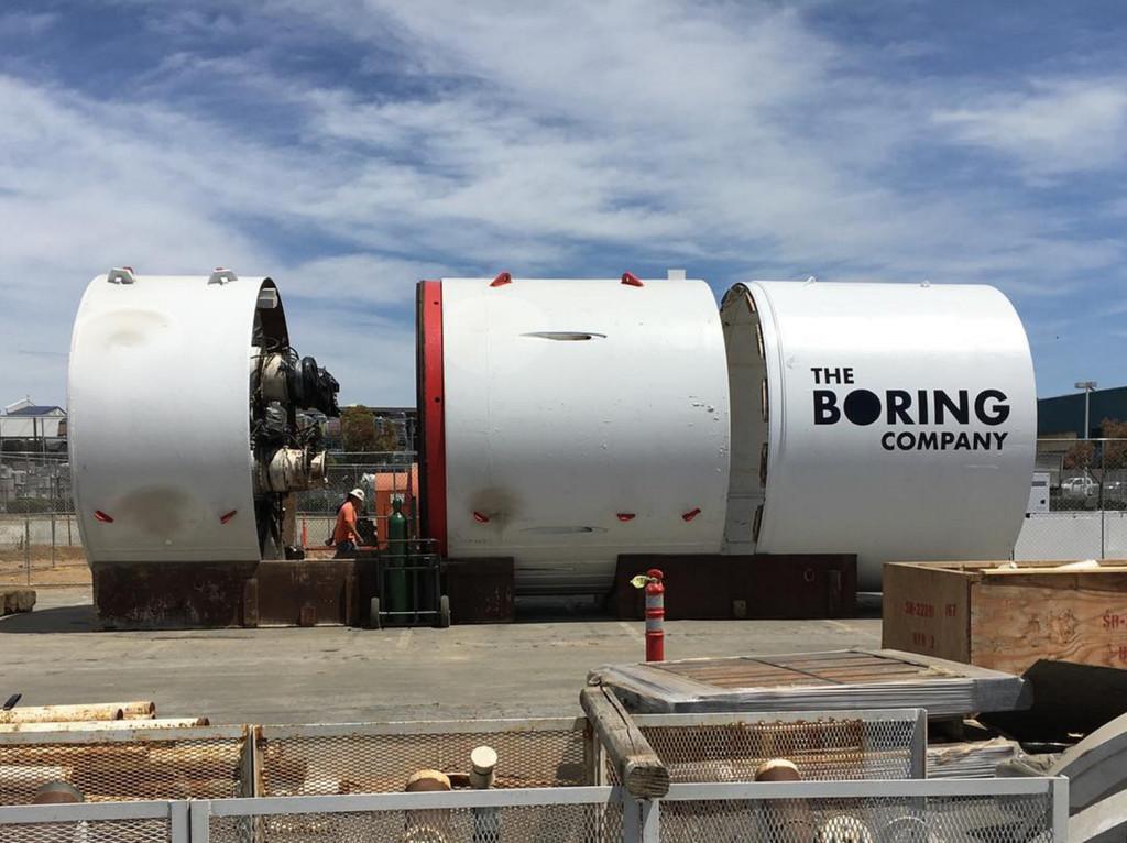 Tunnel Boring Company Borer