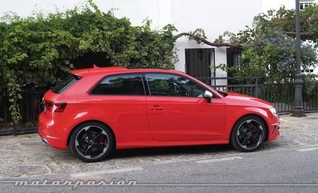Audi S3 rojo exterior 53B