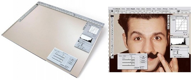 photo retouch mirror