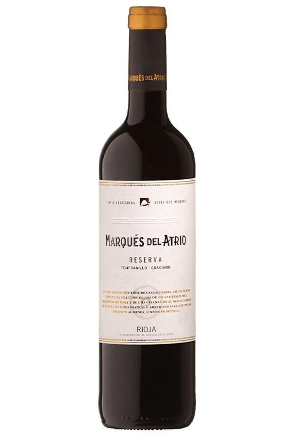 Marqués del Atrio Reserva 2015. DOCa Rioja.