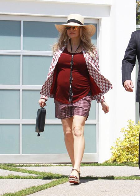 Fergie embarazo moda