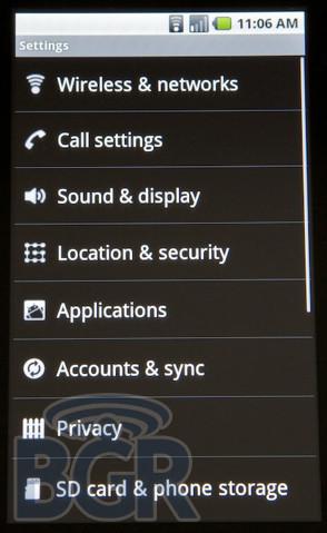 Foto de Android 2.0, primeras imágenes (18/32)