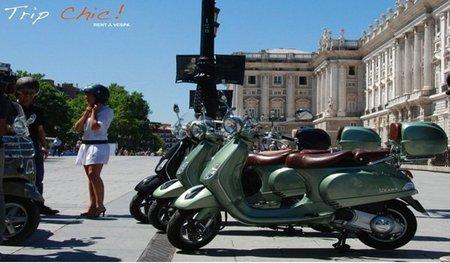 Alquiler de Vespas Vintage en Madrid
