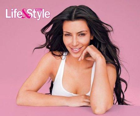 Kim Kardashian dice posar sin maquillaje, ¡¡no te lo crees ni tú!!