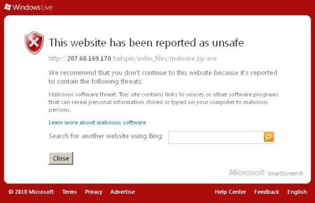 Protección anti-phishing de Windows Live Messenger 2010, ¿el nuevo UAC?