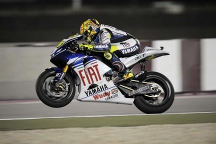 Que la noche no nos confunda: Rossi estará luchando por el título