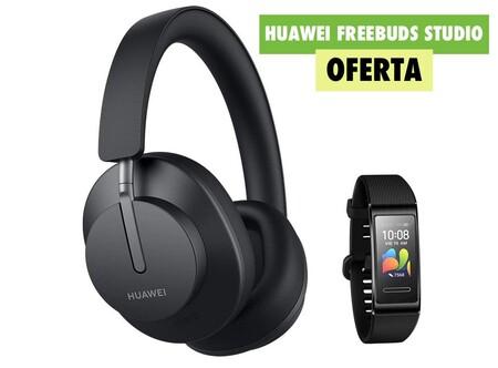 Los nuevos auriculares inalámbricos de Huawei con cancelación de ruido llegan con un regalazo: 50 euros de descuento y una Mi Band 4 Pro