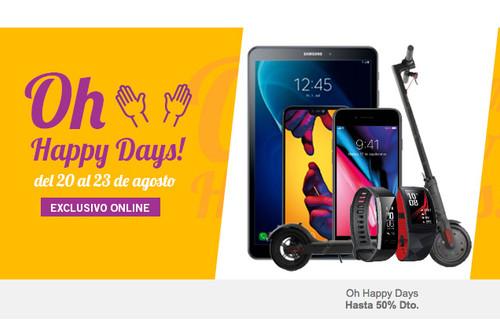 Vuelven los Oh Happy Days de Phone House: del 20 al 23 de agosto
