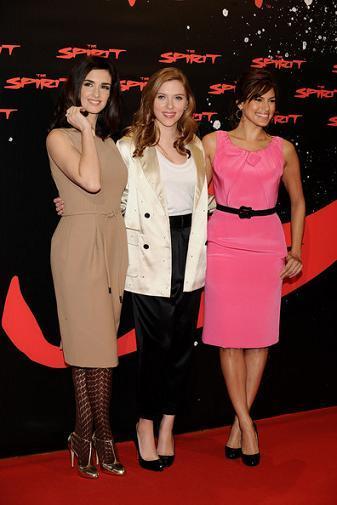 Paz Vega, Scarlett Johansson, y Eva Mendes, juntas en Madrid