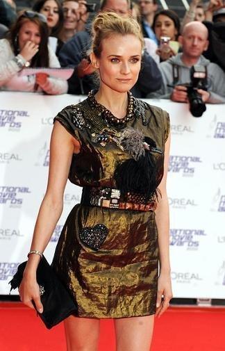 Alfombra roja National Movie Awards 2010: de Diane Kruger a Emma Watson, pasando por Gwyneth Paltrow y Katie Holmes