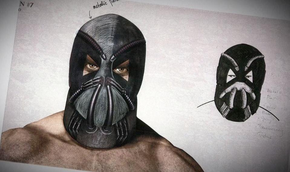 Foto de 'El caballero oscuro: La leyenda renace', diseños alternativos de Bane y carteles oficiales no usados (1/7)
