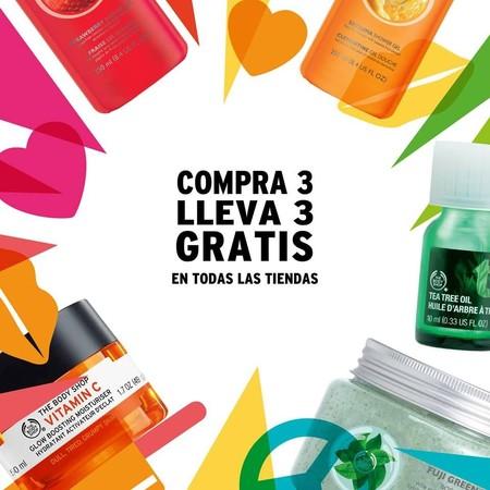 Locura 6x3 en The Body Shop: paga tres productos y llévate seis
