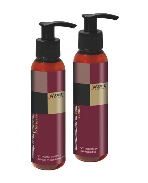 Champú purificante extra-suave + Acondicionador en seco sin aclarado