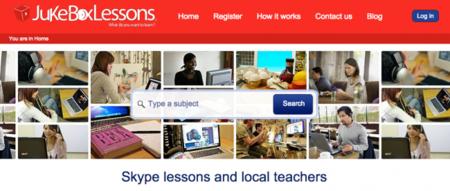 JukeboxLessons, directorio de profesores para clases por videoconferencia