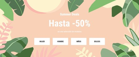 Sarenza nos ofrece hasta un 50% en sus Summers Deals en calzado y bolsos