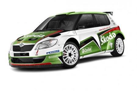 Los nuevos colores de los Skoda Fabia S2000 oficiales