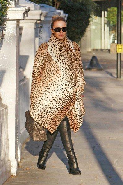 Este invierno no te quedes sin tu abrigo de leopardo