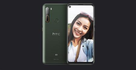 HTC U20 5G: el primer teléfono 5G de HTC apuesta por una gran batería y una cámara trasera cuádruple