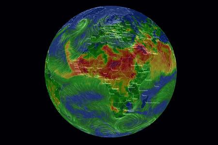 ¿Cómo de contaminado está el aire del planeta? Este estupendo mapa te lo muestra en tiempo real