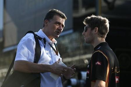 En Lotus temen que Romain Grosjean deje el equipo