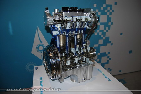 Ford Fiesta 2013 eco boost motor