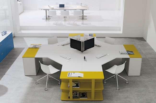 Foto de Coleccion Shi de escritorios para oficinas (6/6)