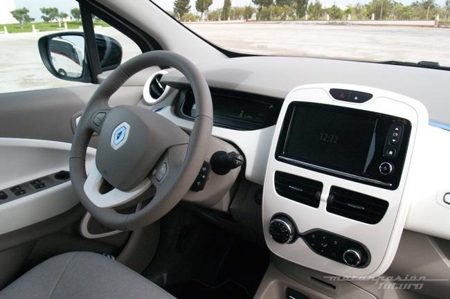 Renault ZOE presentación y prueba en Lisboa 24C (interior Zen)