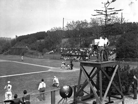 First Baseball Broadcast