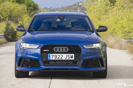Audi RS 6 Avant performance, prueba