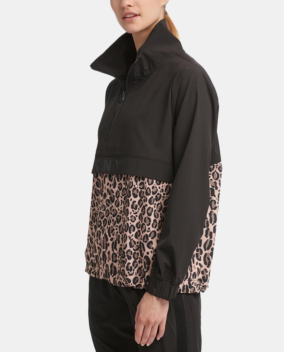 Sudadera de mujer DKNY con cuello caja