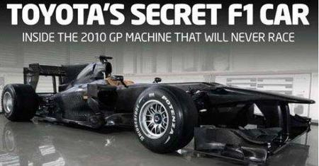El Toyota TF110 ha estado rodando en Colonia con Kazuki Nakajima