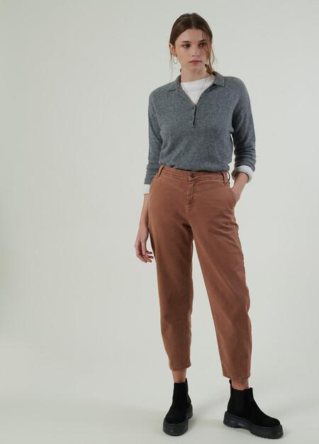 Pantalon Slow Pinzas W21Pantalon slow pinzas