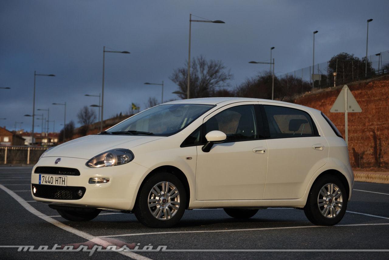 Foto de Fiat Punto 1.4 GLP (prueba) (35/70)