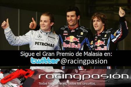 GP de Malasia 2010: Sigue en directo la carrera a través del Twitter de Racingpasión