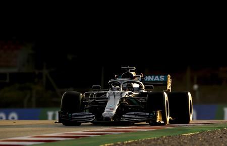 Hamilton Barcelona F1 2020