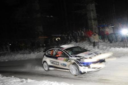 Tras tres tramos Mikko Hirvonen lidera el Monte Carlo