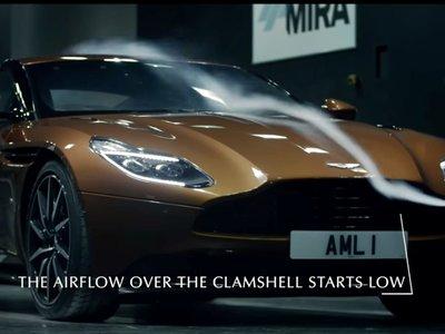 Este vídeo te va a descubrir algunos secretos aerodinámicos del Aston Martin DB11