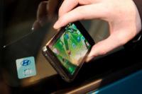 Hyundai muestra un concepto sustituyendo las llaves del coche por el smartphone con NFC