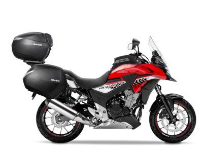 Con la línea SHAD para la Honda CB500X podrás irte tan lejos como quieras