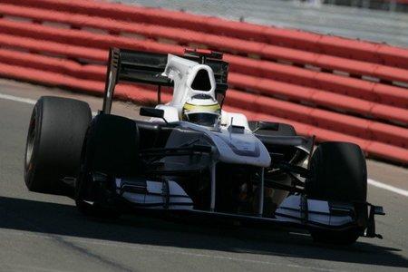 """GP de Gran Bretaña 2010: Pedro de la Rosa """"vuela"""" en Silverstone"""