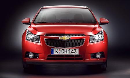 Chevrolet Cruze, primeras imágenes oficiales