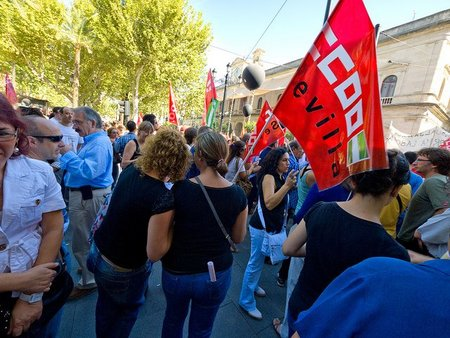 El poder de la silicona en la huelga general
