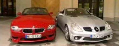 Mercedes SLK55 vs BMW Z4 M Coupe