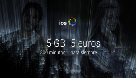 ios móvil recupera su tarifa de 300 minutos y 5 GB por 5 euros, pero su contratación sigue siendo temporal