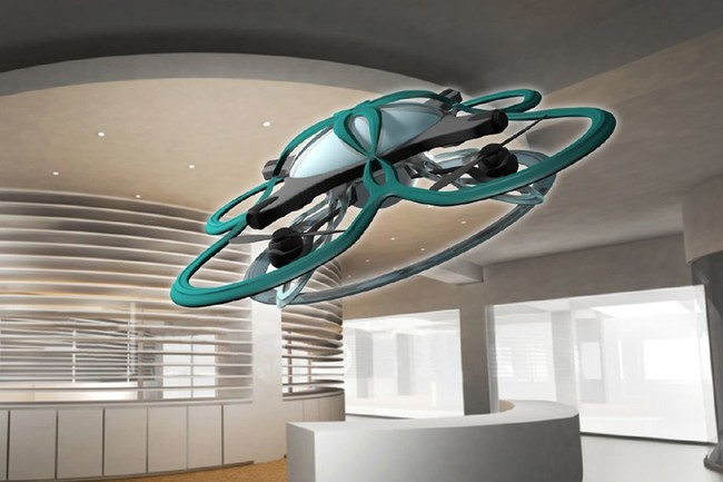 En Japón plantean una solución para conseguir que los empleados se vayan a casa: un dron que los sobrevuele y vigile