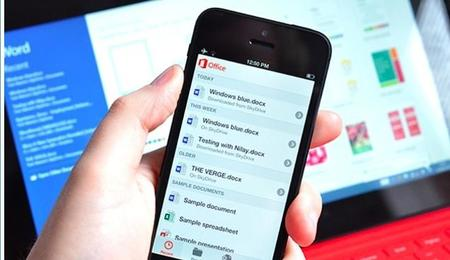Office aterriza finalmente en iPhone / iPad