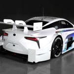 Lexus convierte su Lexus LC 500 en un Super GT de carreras para Japón